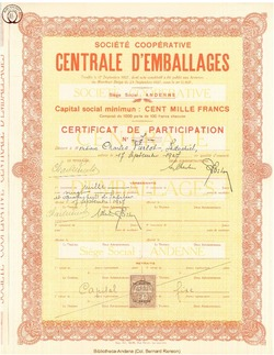 Société Coopérative Centrale d'Emballages.