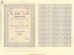 Société Anonyme Le Bon Pain Andennais.