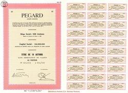 Société Anonyme Pegard.