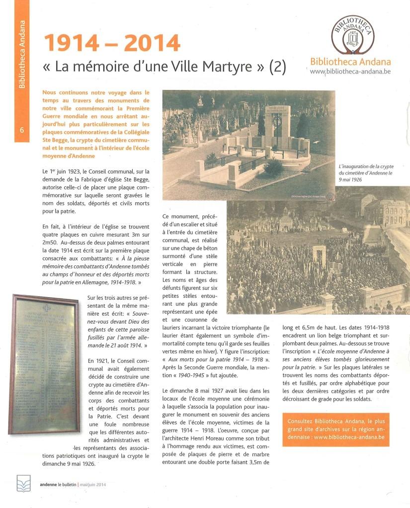 Mémoire Ville Martyre (2)