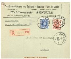 Enveloppe Arnould