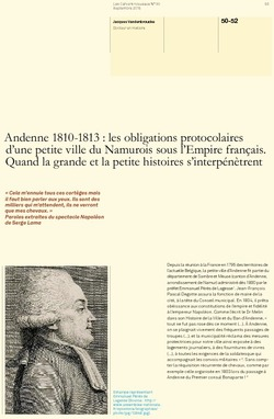 Andenne 1810-1813