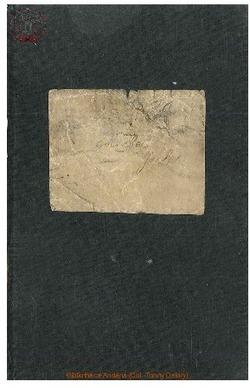 Livret appartenant à Monsieur Jules Michel.