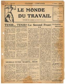 Le Monde du Travail 1944-03