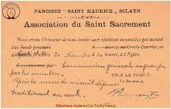 Association du Saint Sacrement