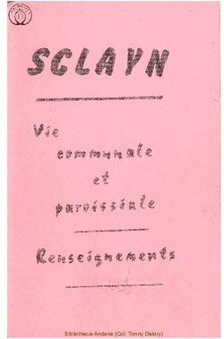 Sclayn Vie communale et paroissiale - Renseignements
