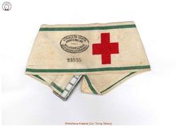 Brassard du Service de Santé de l'armée belge