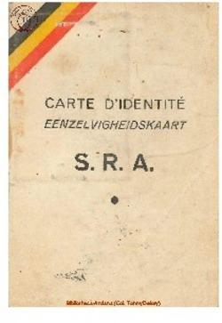 Carte de membre du S.R.A.