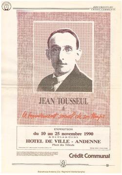 Jean Tousseul et le Mouvement social de son temps
