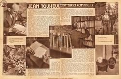 Jean Tousseul conteur et romancier