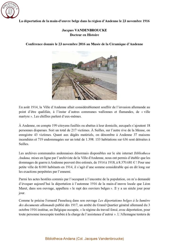 Pages de Conférence Andenne déportés