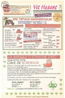 51e année - n°37 - 9 octobre 1997