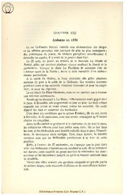 Andenne en 1830