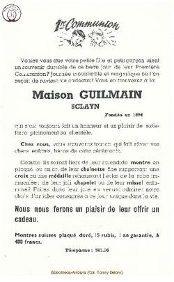Publicite Guilmain (4)