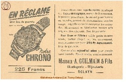 Publicite Guilmain