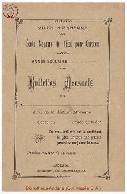 Bulletin 1900 1901