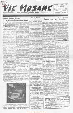 9e annee - n422 -11 decembre 1954