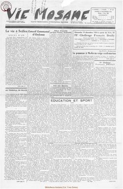9e annee - n423 -18 decembre 1954