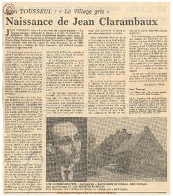 Jean Tousseul:
