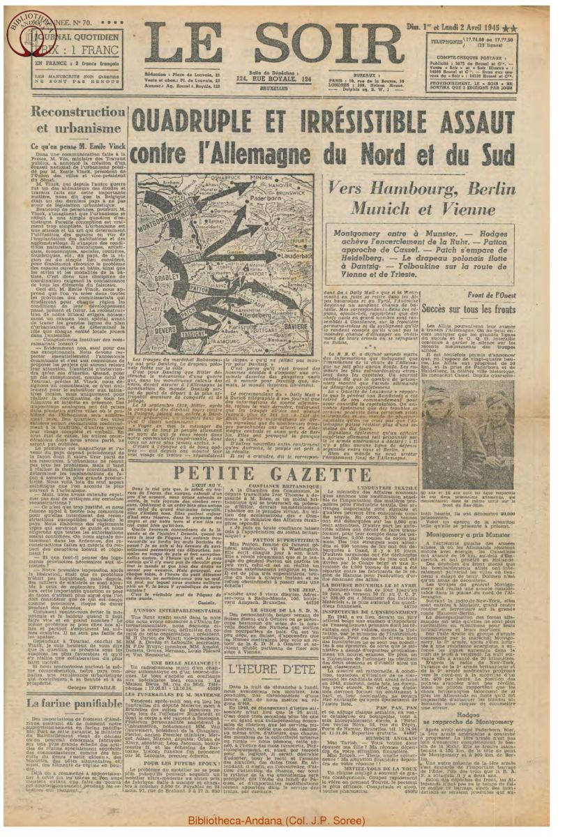 1945-04-02 Le Soir