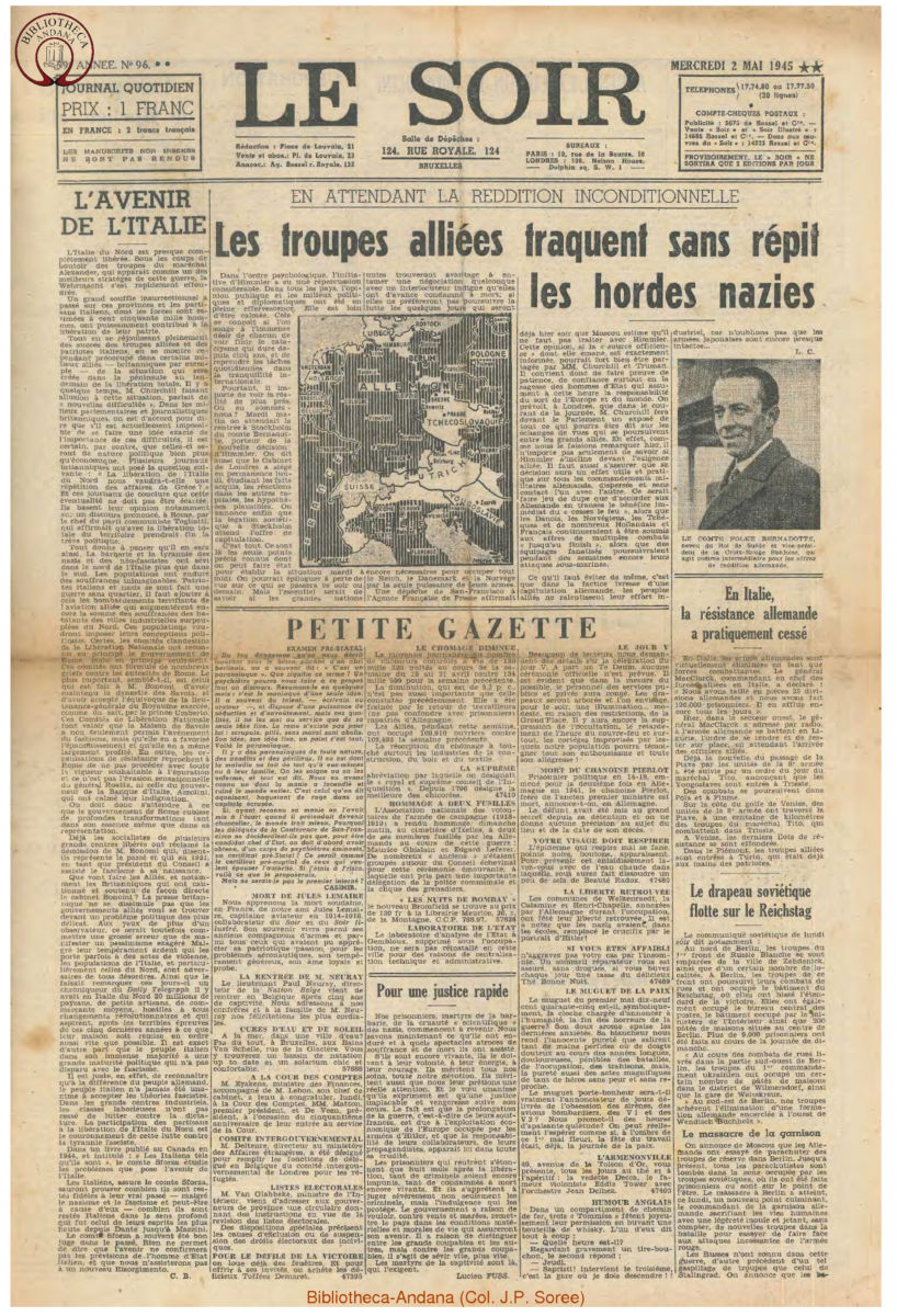 1945-05-02 Le Soir