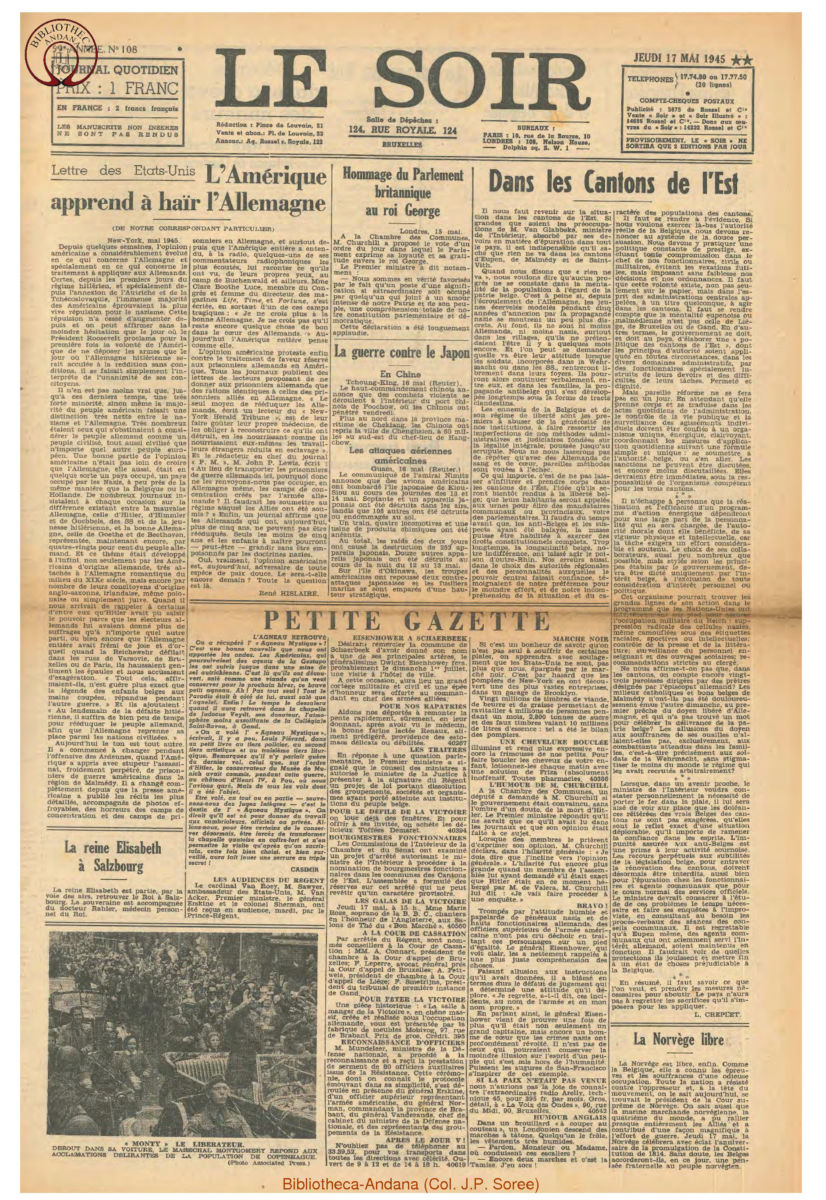 1945-05-17 Le Soir
