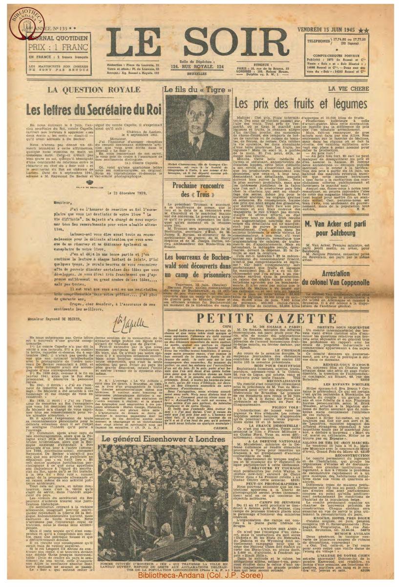 1945-06-15 Le Soir