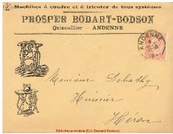 Enveloppe Bodart Bodson 1899