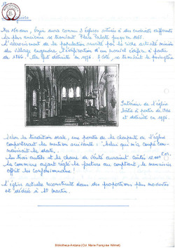 Les églises de Vezin