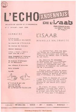 Echo Andennais de ISAAB