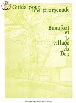 Beaufort et le village de Ben