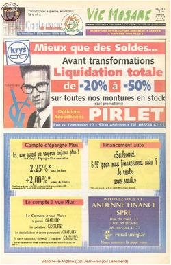 52e année - n°1 - 1 janvier 1998