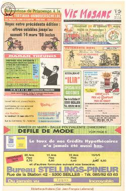 52e année - n°11 - 12 mars 1998