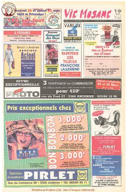 52e année - n°12 - 19 mars 1998