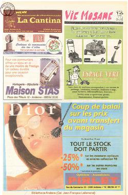 52e année - n°16 - 16 avril 1998