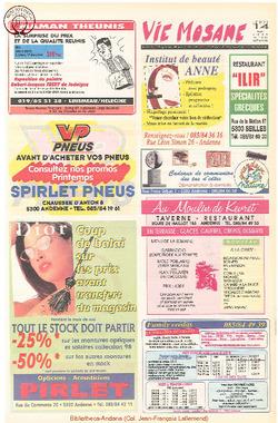 52e année - n°20 - 14 mai 1998