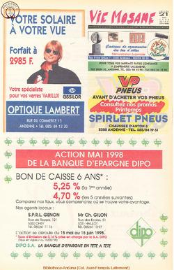 52e année - n°21 - 21 mai 1998