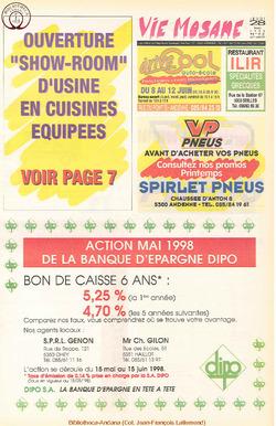 52e année - n°22 - 28 mai 1998