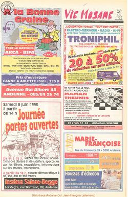 52e année - n°23 - 4 juin 1998