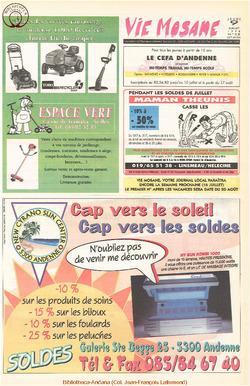 52e année - n°28 - 9 juillet 1998