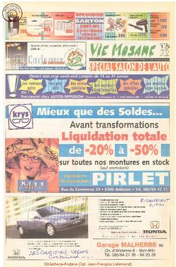 52e année - n°3 - 15 janvier 1998