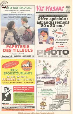 52e année - n°30 - 20 août 1998