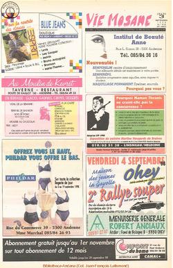 52e année - n°32 - 3 septembre 1998
