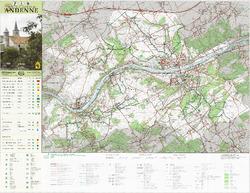 Carte des sentiers touristiques