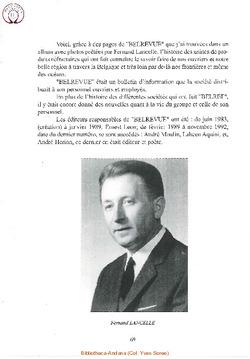 A. Historique de la revue