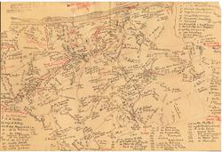 Carte de Albert Lallemand dit « du Lothier »