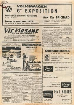 Publicitaire 23 octobre 1971