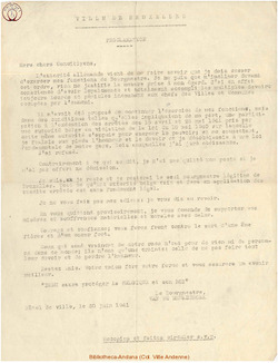 1941-06-30 Tract du Bourgmestre de Bruxelles
