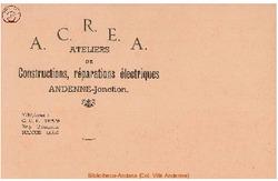 Enveloppe ACREA 1945