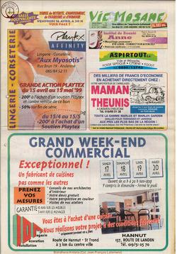 53e année - n°15 - 14 avril 1999